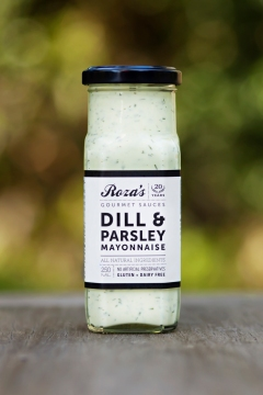 Dill and Parsely Mayo